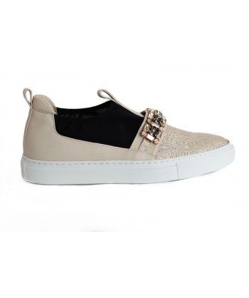 SNEAKERS ACCADEMIA BEIGE